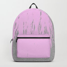 Concrete Fringe Blush Backpack