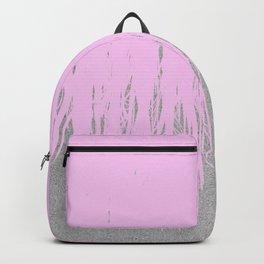 Concrete Fringe Blush Backpack