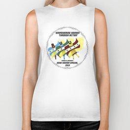 """Empowering Women Through Action"" Biker Tank"
