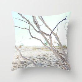 The Road to Marfa Throw Pillow