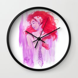 Comfort In Your Strangeness Wall Clock