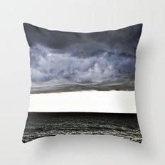 Sky and Ocean Throw Pillow