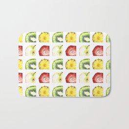 Fruit Slices Pattern Bath Mat