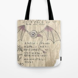 Book of Nightmares, The Observer Tote Bag