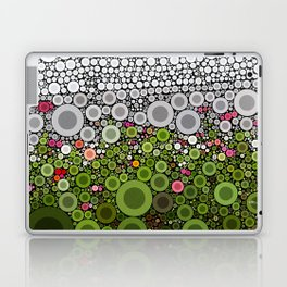 FLORAL DOTS Laptop & iPad Skin
