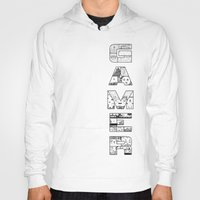 gamer Hoodies featuring Gamer 2 by Angela Felan
