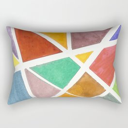Glass Stained Rectangular Pillow