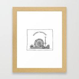 December Twenty-First Framed Art Print