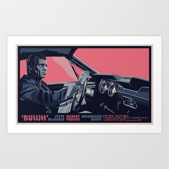 BULLITT - 02 Art Print