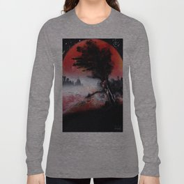 A TREE SUNSET Long Sleeve T-shirt