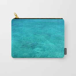 Clear Turquoise Water Carry-All Pouch