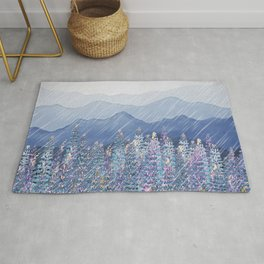 Mountain Lupine  Rug
