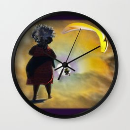 Moon Glide Wall Clock