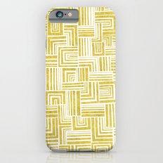 Golden Doodle weave iPhone 6s Slim Case