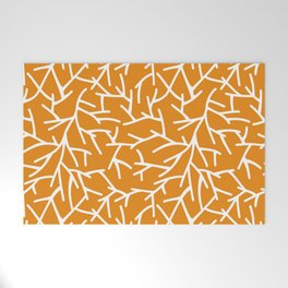 Branches - Orange Welcome Mat