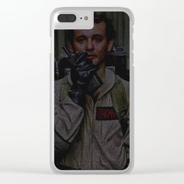 Venkman: Ghostbusters Screenplay Print Clear iPhone Case