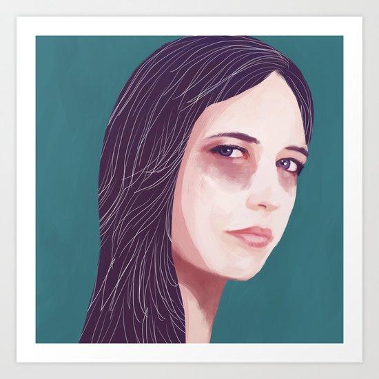 Eva Green Art Print