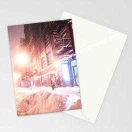 New York City Blizzard Stationery Cards