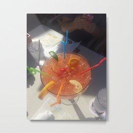 Drink To Share Metal Print