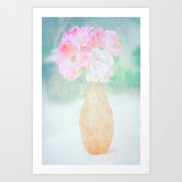 de belles fleurs Art Print