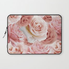 Soft Pink Roses Laptop Sleeve