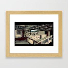 69 - IIMB stonework Framed Art Print