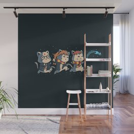 Potter Cats Wall Mural