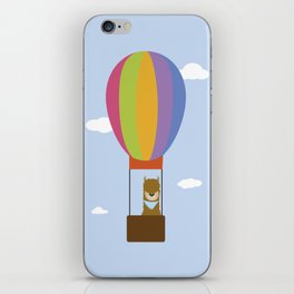 Llama in Air Balloon iPhone Skin
