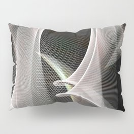 Abstract symmetry in flow of silence Pillow Sham