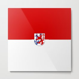 Flag of  Düsseldorf Metal Print