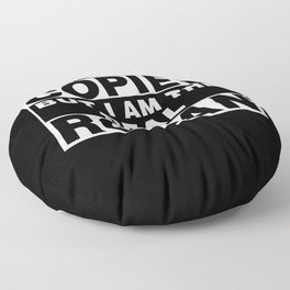 I Am Ronan Funny Personal Personalized Fun Floor Pillow