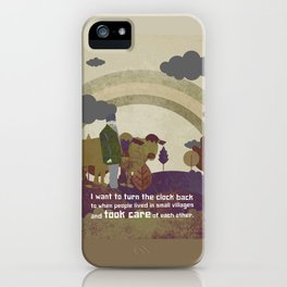 Small village 9 iPhone Case