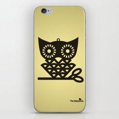Yellow Hoot iPhone & iPod Skin