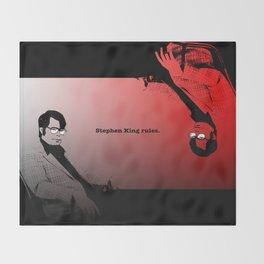 Stephen King Rules Throw Blanket