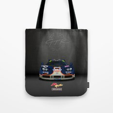 1995 McLaren F1 GTR Le Mans - Gulf Livery Tote Bag