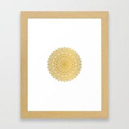 Beautiful Mandala Framed Art Print