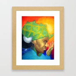 Mama Afrika Framed Art Print