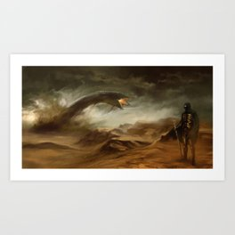 Sands of Arrakis Art Print