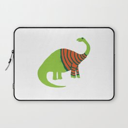 Brontosaurus in a Sweater Laptop Sleeve