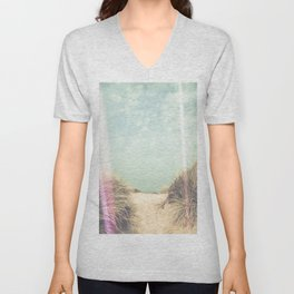 Light Leaks / The Way To The Beach Unisex V-Neck
