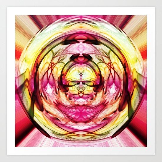 Crystal Ball 2 Art Print