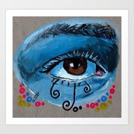 """eye study #1"" Art Print"