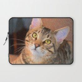 Cute Bengal Kitty Laptop Sleeve