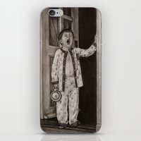 good morning iPhone & iPod Skins featuring Good morning! by Amy Fan