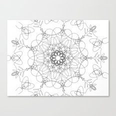 mandala - muse 6 Canvas Print