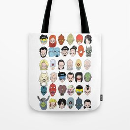 Space Warriors from Universe 7 Tote Bag