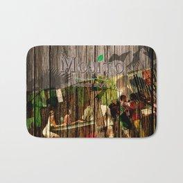 mojito beach style - barplace Bath Mat