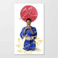 Asian Lotus Canvas Print