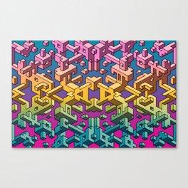 Square Necessities Canvas Print