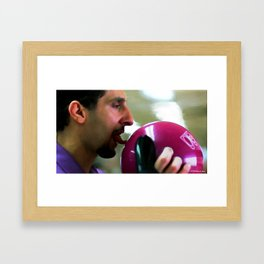 "John Turturro as Jesus Quintana in the film ""The Big Lebowski"" (Joel and Ethan Coen - 1998) Framed Art Print"